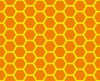 Bienenwaberasterfeld vektor abbildung