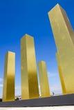 Biennale Venedig - der Himmel über neun Spalten Lizenzfreies Stockfoto