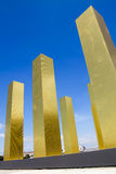 Biennale Venice - The Sky over nine Columns Royalty Free Stock Photo