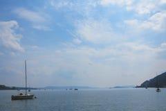 Bienne湖 免版税图库摄影