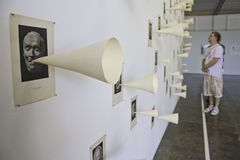 Biennial d'art de 30 Sao Paulo Photos libres de droits
