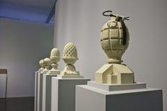 Biennial d'art de 30 Sao Paulo - Ian Hamilton Finlay Photos stock