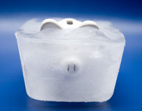 biens congelés Photos stock
