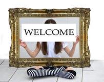 Bienvenido Imagenes de archivo