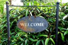 ¡ Bienvenido! Imagen de archivo