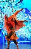  bienvenu de show†de scénarios d'échelle de Tibétain danse-grand le  de legend†de route Images stock