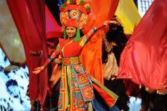  bienvenu de show†de scénarios d'échelle de Tibétain danse-grand le  de legend†de route Images libres de droits