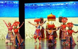  bienvenu de show†de scénarios d'échelle de Tibétain danse-grand le  de legend†de route Photo libre de droits