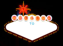 Bienvenue à? (illustrateur ENV d'Adobe) Photos stock