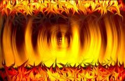 Bienvenue à l'enfer Image libre de droits