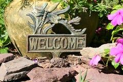 Bienvenue Images stock