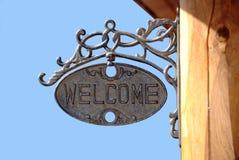 Bienvenue Photo stock