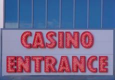 Bienvenue au casino ! Photos libres de droits