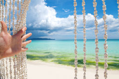Bienvenue au paradis Photographie stock libre de droits