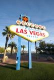 Bienvenue au signe de Las Vegas Images stock