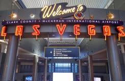 Bienvenue au signe de Las Vegas Photos libres de droits