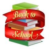 Bienvenue de nouveau à l'école Image stock