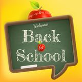 Bienvenue de nouveau à l'école ENV 10 illustration libre de droits