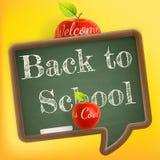 Bienvenue de nouveau à l'école ENV 10 illustration stock