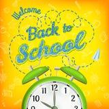 Bienvenue de nouveau à l'école ENV 10 Photo stock