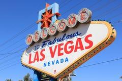 Bienvenue vers Las Vegas Image stock