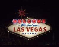 Bienvenue vers Las Vegas photos libres de droits
