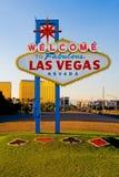 Bienvenue vers Las Vegas fabuleuse Image libre de droits
