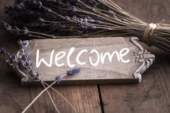 Bienvenue - Welcome to France Royalty Free Stock Photography