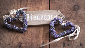 Bienvenue - Welcome to France Stock Photos