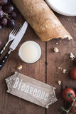 Bienvenue - Welcome to France Royalty Free Stock Photo