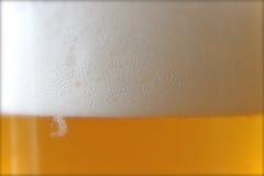 Schuimend Bier Royalty-vrije Stock Afbeeldingen