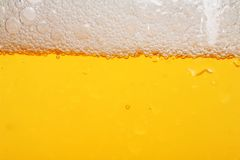 Bier. Detail of a beer in a glass Royalty Free Stock Photos