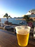 Bier auf den Docks Lizenzfreie Stockfotografie