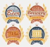 Bier auf Hahn Stockfotos