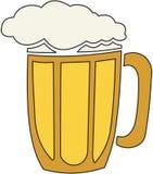 Bier-Ausschnitt Pfad Stockfotos