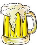 Bier-Becher Lizenzfreie Stockbilder