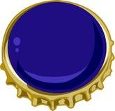 Bier Bottlecap royalty-vrije illustratie