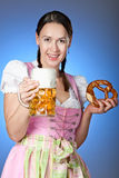 Bier & Brezn Royalty Free Stock Photos