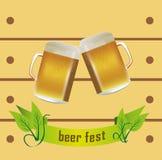 Bier fest stock abbildung