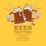 Bier-Festival. Stockfotografie