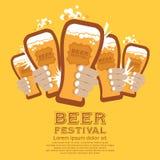 Bier-Festival Stockbild