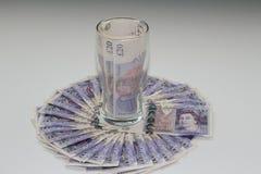 Bier-Geld Lizenzfreie Stockfotografie