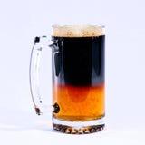Bier-halbes Liter Stockfoto