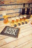 Bier het Proeven stock foto