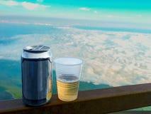 Bier-Landschaft auf Mt-Fuji in Japan stockfotos