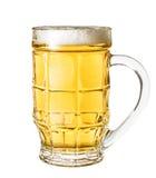 Bier lokalisiert auf weißem Hintergrund lizenzfreie stockbilder