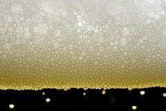 Bier-Luftblasen Lizenzfreies Stockfoto