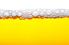 Bier mit Schaumgummi lizenzfreie stockfotos
