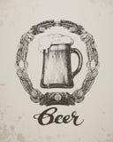 Bier Schets meest oktoberfest festival Hand-drawn vector illustratie