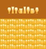 Bier sortiert lizenzfreie abbildung